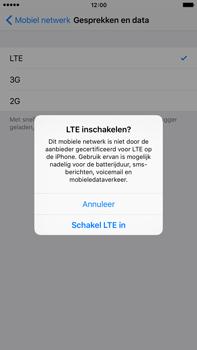 Apple iPhone 6 Plus iOS 9 - 4G instellen  - Toestel instellen voor 4G - Stap 6