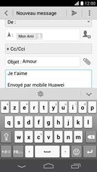 Huawei Ascend P6 LTE - E-mail - envoyer un e-mail - Étape 9