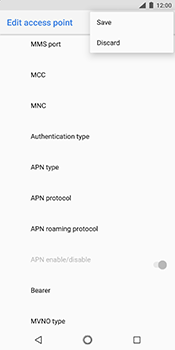 Nokia 7 Plus - Internet - Manual configuration - Step 16