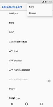 Nokia 7 Plus - MMS - Manual configuration - Step 15