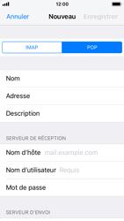 Apple iPhone 5s - iOS 11 - E-mail - Configurer l