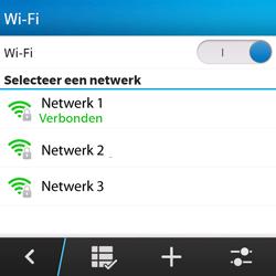 BlackBerry Q5 - Wifi - handmatig instellen - Stap 9