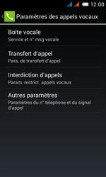 Alcatel OT-4033X Pop C3 - Messagerie vocale - configuration manuelle - Étape 8