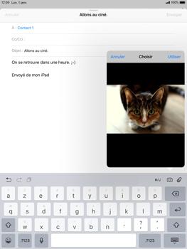 Apple iPad Air iOS 12 - E-mail - envoyer un e-mail - Étape 10