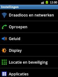 Samsung S5300 Galaxy Pocket - Netwerk - Handmatig netwerk selecteren - Stap 7