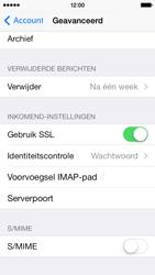 Apple iPhone 5s iOS 8 - E-mail - Account instellen (IMAP met SMTP-verificatie) - Stap 25