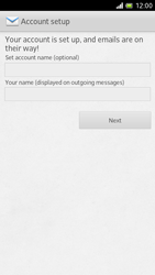 Sony LT28h Xperia ion - E-mail - Manual configuration - Step 15