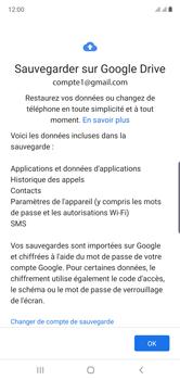 Samsung Galaxy Note10 - Données - créer une sauvegarde avec votre compte - Étape 10