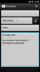 Sony Xperia J - E-Mail - E-Mail versenden - 2 / 2