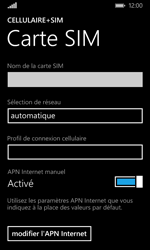 Microsoft Lumia 532 - Internet - Configuration manuelle - Étape 7