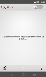 Sony D2005 Xperia E1 - WiFi - Handmatig instellen - Stap 6