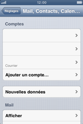 Apple iPhone 3GS - E-mail - Configuration manuelle - Étape 13