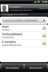 HTC A510e Wildfire S - contacten, foto