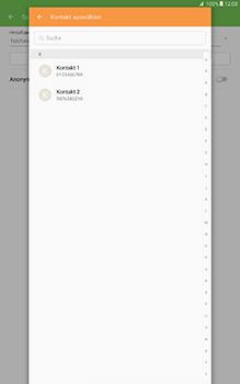Samsung Galaxy Tab A 10-1 - Anrufe - Anrufe blockieren - Schritt 8