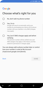 Samsung Galaxy S9 Plus - Applications - Setting up the application store - Step 16