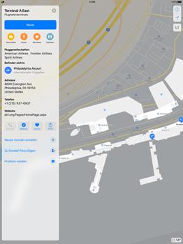 Apple iPad Pro 12.9 inch - iOS 11 - Indoor-Karten (Einkaufszentren/Flughäfen) - 12 / 12