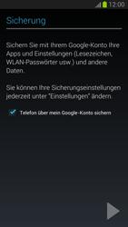Samsung Galaxy S III - Apps - Einrichten des App Stores - Schritt 14