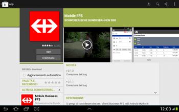 Samsung Galaxy Tab 2 10.1 - Applicazioni - Installazione delle applicazioni - Fase 24