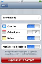 Apple iPhone 4 - E-mail - Configurer l