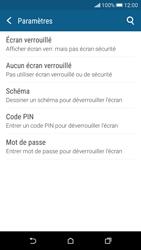 HTC Desire 626 - Sécuriser votre mobile - Activer le code de verrouillage - Étape 6