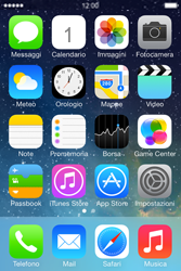 Apple iPhone 4S iOS 7 - Internet e roaming dati - Disattivazione del roaming dati - Fase 1