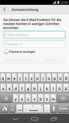 Huawei Ascend P7 - E-Mail - Konto einrichten - Schritt 6