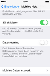 Apple iPhone 4 S mit iOS 7 - Internet - Manuelle Konfiguration - Schritt 5