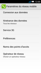 Alcatel Pop C7 - Internet et roaming de données - Désactivation du roaming de données - Étape 6