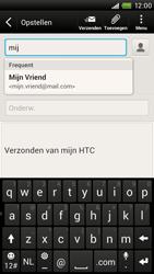 HTC S728e One X Plus - E-mail - E-mail versturen - Stap 6
