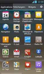 LG P700 Optimus L7 - E-mail - envoyer un e-mail - Étape 2
