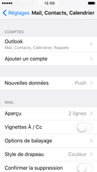 Apple iPhone 5 iOS 9 - E-mail - 032c. Email wizard - Outlook - Étape 9