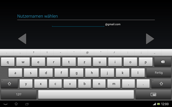 Sony Xperia Tablet Z LTE - Apps - Einrichten des App Stores - Schritt 9