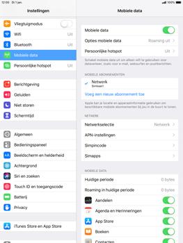 Apple ipad-mini-5-7-9-inch-2019-model-a2124 - Internet - Uitzetten - Stap 4