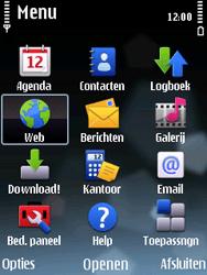 Nokia E75 - internet - hoe te internetten - stap 2