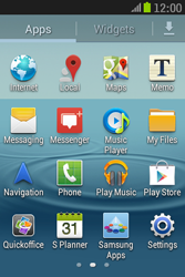 Samsung S6310 Galaxy Young - Internet - Manual configuration - Step 3