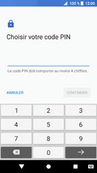 Sony Xperia XZ1 - Sécuriser votre mobile - Activer le code de verrouillage - Étape 7