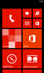 Nokia Lumia 720 - Internet - Uitzetten - Stap 1