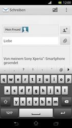 Sony Xperia T - E-Mail - E-Mail versenden - Schritt 8