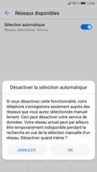 Huawei P9 Lite - Android Nougat - Réseau - Sélection manuelle du réseau - Étape 7