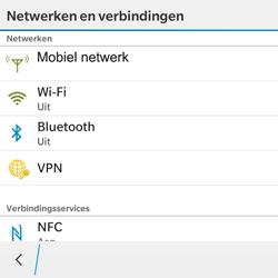 BlackBerry Classic - WiFi - Handmatig instellen - Stap 5
