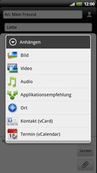 HTC Z710e Sensation - MMS - Erstellen und senden - Schritt 12