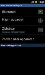 Samsung I9100 Galaxy S II - bluetooth - headset, carkit verbinding - stap 6