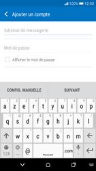 HTC Desire 626 - E-mail - Configuration manuelle - Étape 6