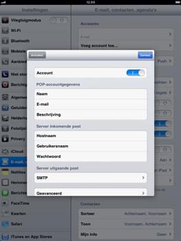 Apple iPad mini - E-mail - handmatig instellen - Stap 15