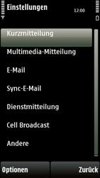 Nokia 5230 - SMS - Manuelle Konfiguration - 5 / 10