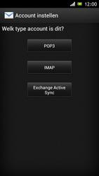 Sony ST26i Xperia J - e-mail - handmatig instellen - stap 6
