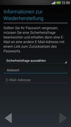 HTC Desire 601 - Apps - Konto anlegen und einrichten - 12 / 24