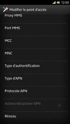 Sony LT28h Xperia ion - MMS - Configuration manuelle - Étape 12