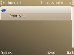 Nokia E72 - Internet - Manual configuration - Step 12