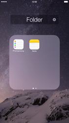 Apple iPhone 6 Plus - iOS 8 - Operazioni iniziali - Personalizzazione della schermata iniziale - Fase 7